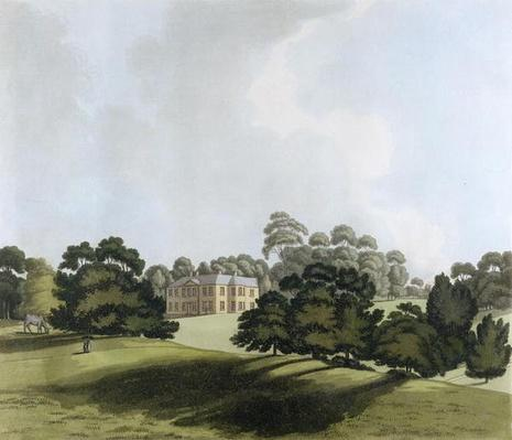 Vinters in Kent, seat of James Whatman Esq., from 'Views in Kent', 1800
