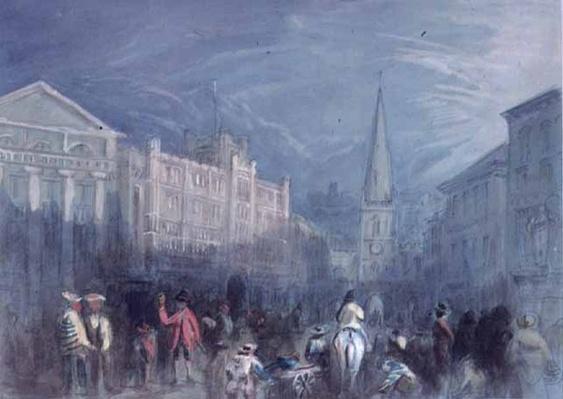 View of Broad Street, Bristol