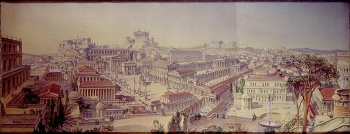 Rome As it Was, Restored After Existing Remains