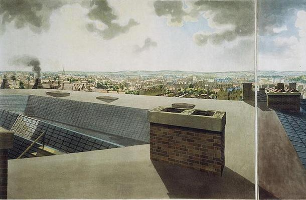 Panoramic view of London, 1792-93