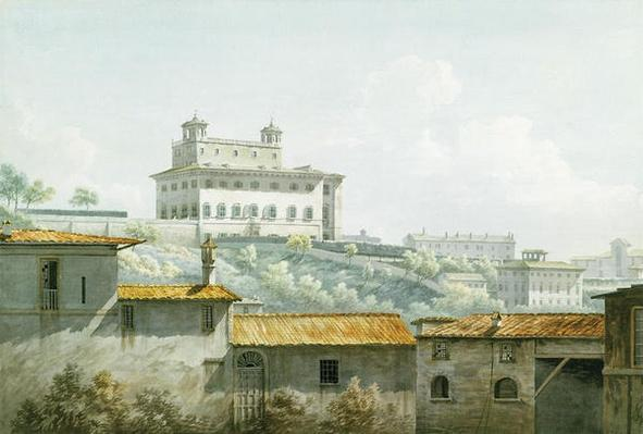 The Villa Medici, Rome, 1784