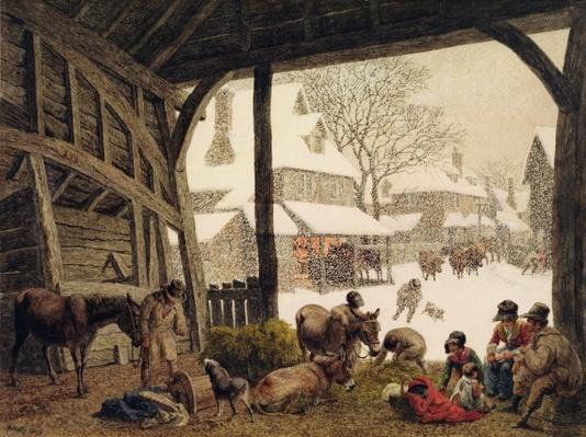A Village Snow Scene, 1819