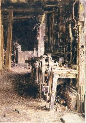 Barn Interior, 1836