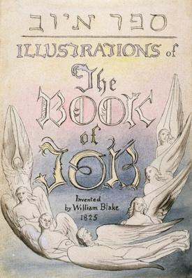 Title Page from 'Illustrations of the Book of Job', pl.1, after William Blake