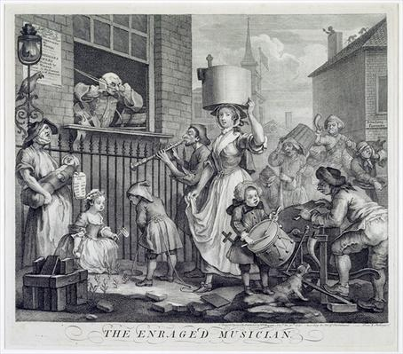 The Enraged Musician, 1741