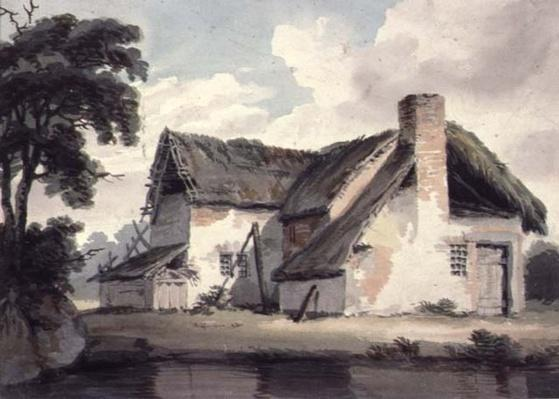 Thatched Cottage near a Pond
