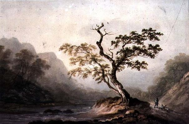 Landscape with River and Mountains