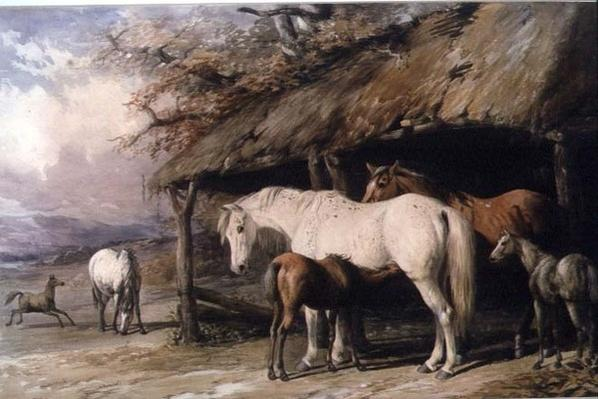 Mares and Foals, 19th century