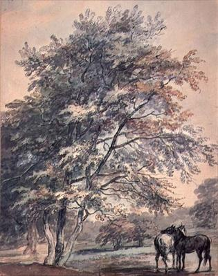 Trees and Horses, 18th century