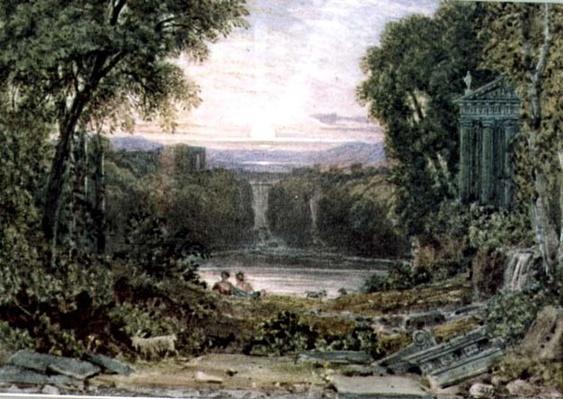Sunset, Tivoli
