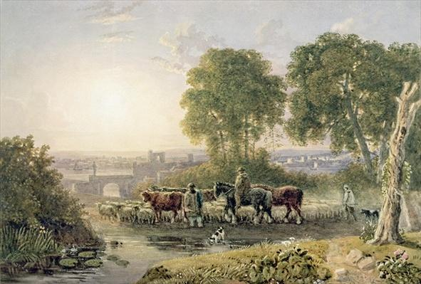 Landscape with Drovers