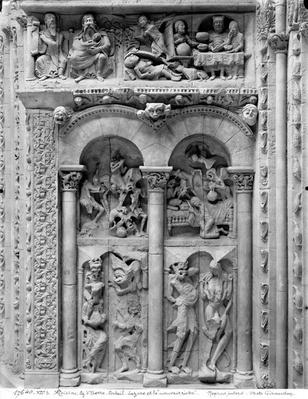 Lazarus and the Rich Man, from the south portal, c.1130