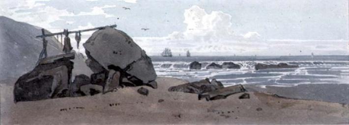 Coast Scene, Isle of Wight