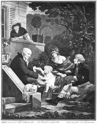 Joys of being a father, c.1797