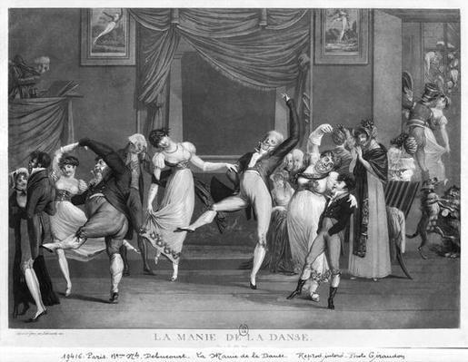 Dance mania, 1809