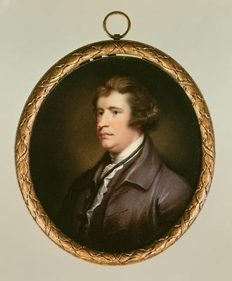Miniature of Edmund Burke, 1795