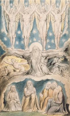 The Creation, page 14 from 'Illustrations of the Book of Job' after William Blake