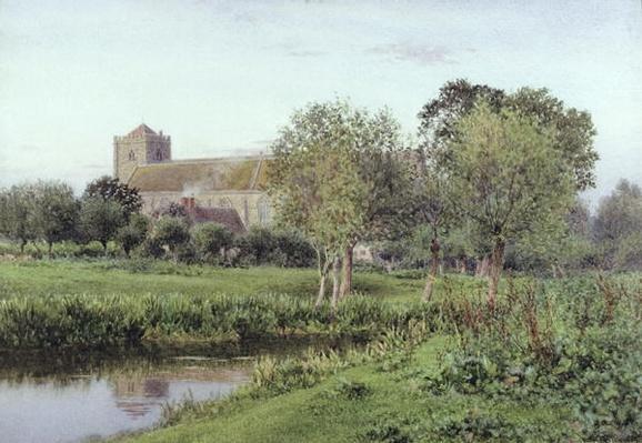 Dorchester Abbey, Near Wallingford, Autumn Evening