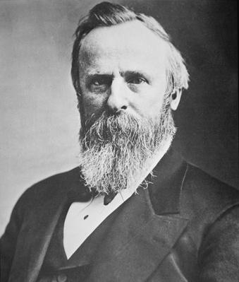 Rutherford B. Hayes (1822-93) (photo) by American Photographer, (19th century)