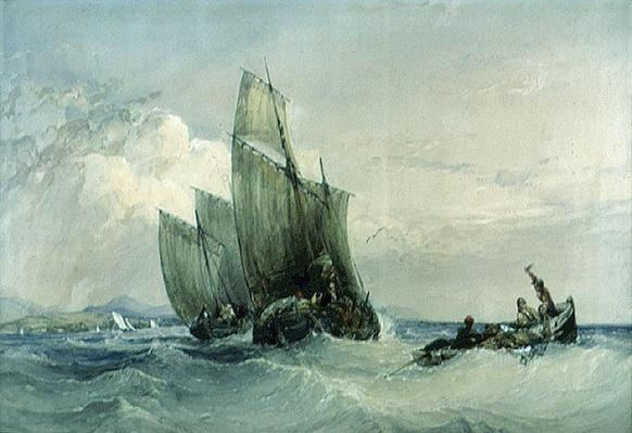 Fishing Boats, 19th century