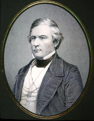 Millard Fillmore (1800-74) (litho) by American School, (19th century)
