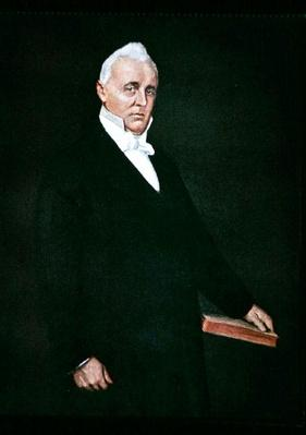 James Buchanan (colour litho) by Chase, William Merritt (1849-1916) (after)
