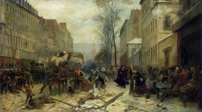 Bombardment of Paris in 1871