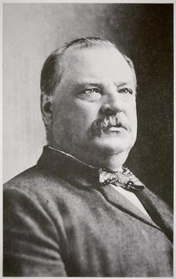 Grover Cleveland (b/w photo) by American Photographer, (19th century)