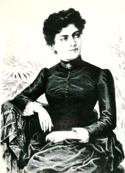 Frances Folsom 1864 1947 Wife Of President Grover