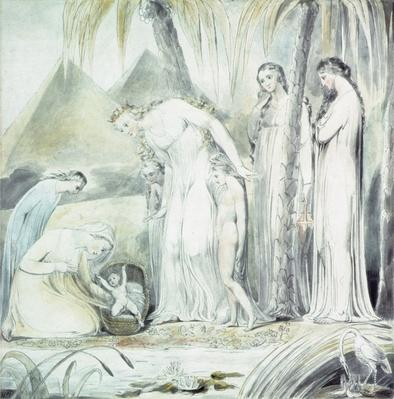 The compassion of Pharaoh's Daughter or The Finding of Moses, 1805