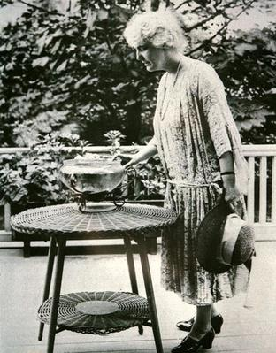 Lou Hoover (1874-1944) (b/w photo) by American Photographer, (20th century)