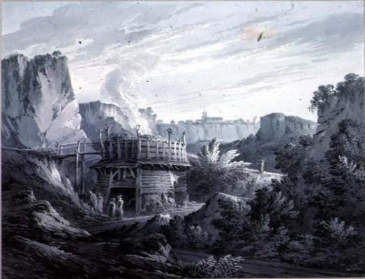 Landscape with a Lime Quarry