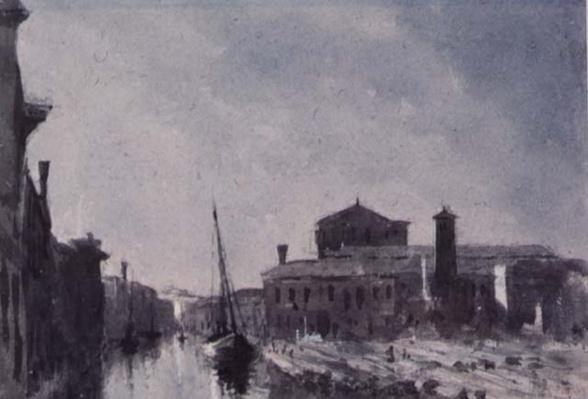The Sacca Della Misericordia, Venice