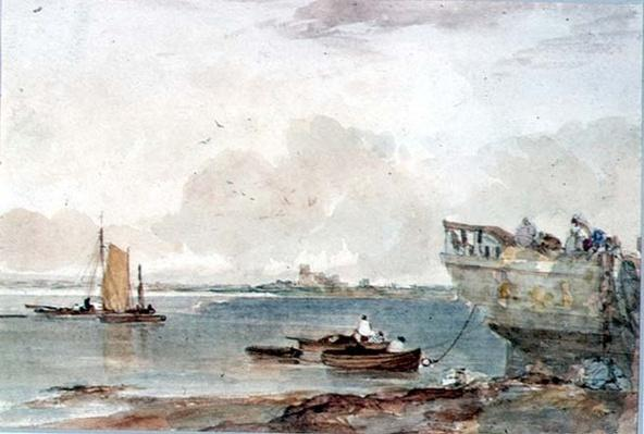 Seascape with Boats, 19th century