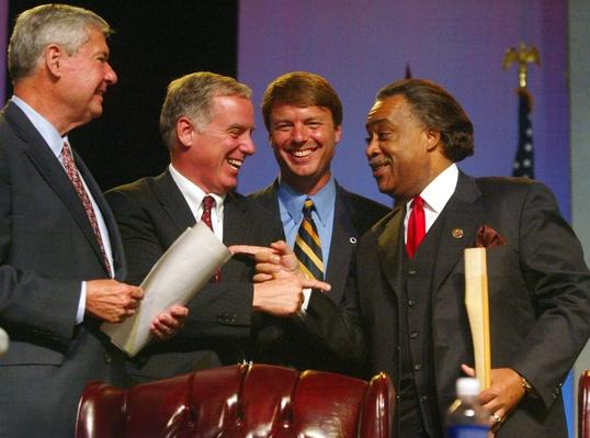 Democratic Presidential Contenders Visit NAACP Convention | U.S. Presidential Elections 2004
