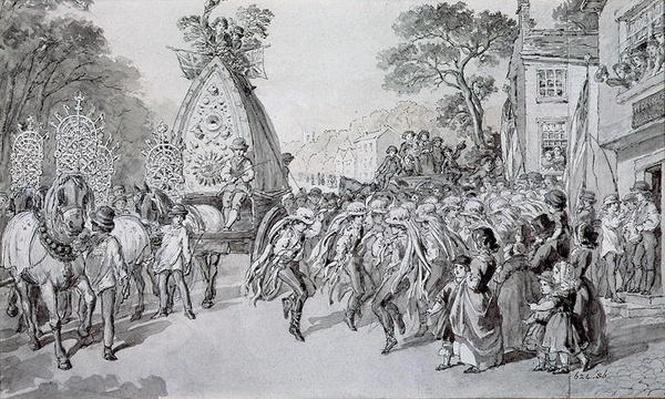 May Day at Bowdon, Cheshire