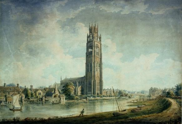 Boston Stump: view from the South-west