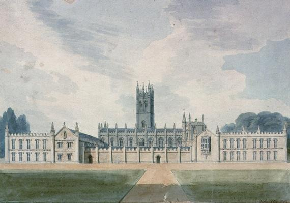 Magdalen College, Oxford, 1804