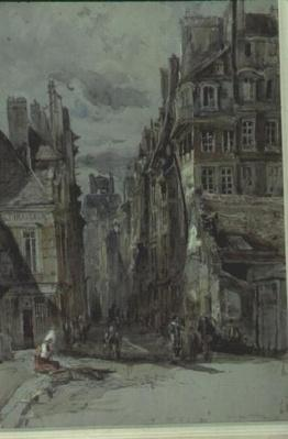 Street Scene, Old Paris