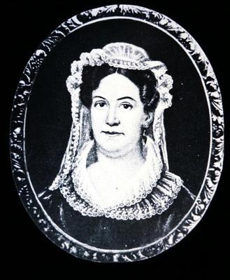 Rachel Donelson Robards Jackson (litho) by American School, (19th century)