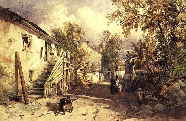 Village of Bowness, Cumberland