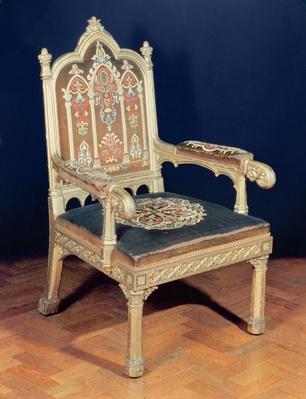Gothic Armchair, c.1830