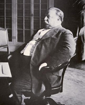 William H. Taft (1857-1930) (b/w photo) by American Photographer, (20th century)