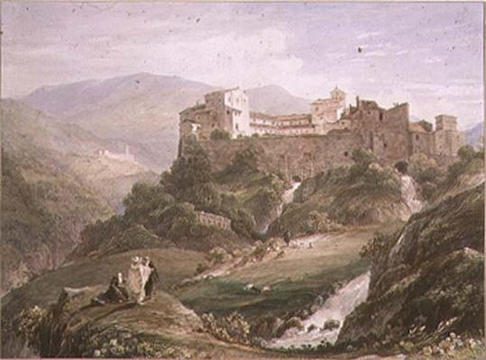 Italian Landscape, with Monastery