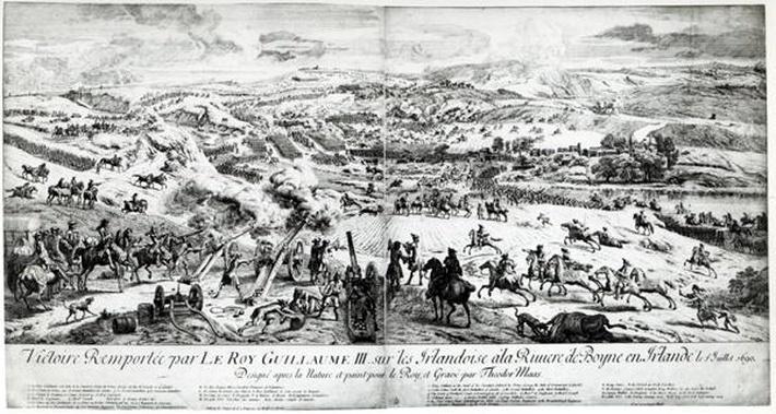 The Battle of the Boyne, c.1690