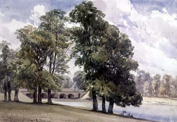 View on the Serpentine, Hyde Park