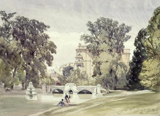 West End of the Serpentine, Kensington Gardens