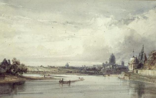 Distant View of Paris