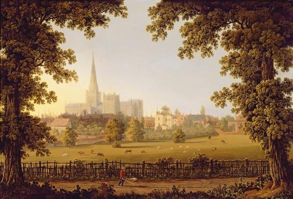 Chichester Cathedral, 1833