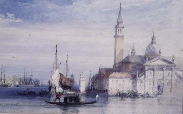 San Giorgio, Venice, 19th century